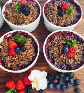 Individual Berry Cobler- Live Young Lifestyle